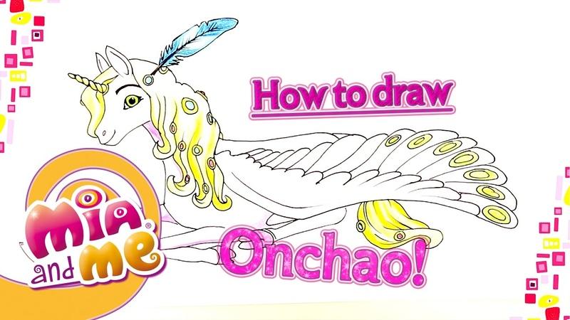 Onchao - Как нарисовать Ончо - Mia and me