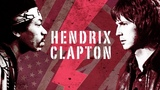 The giants of the guitar...Jimi Hendrix - Eric Clapton video r