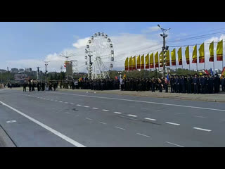 Генеральная репетиция парада Победы в Чебоксарах