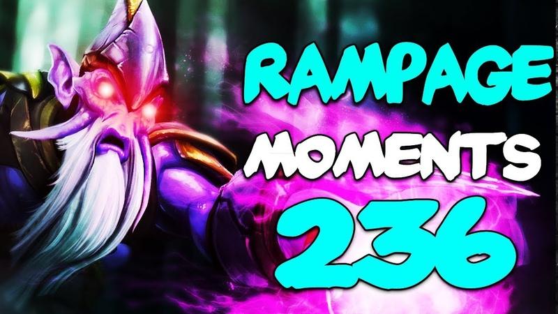 Dota 2 Rampage Moments Ep 236