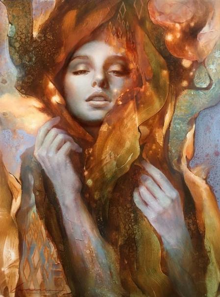 Ванесса Лемен  современная художница из США