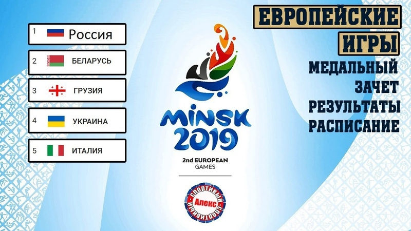 Европейские игры 3 день Результаты Расписание Медальный зачет 35 из 50 стран имеют медали
