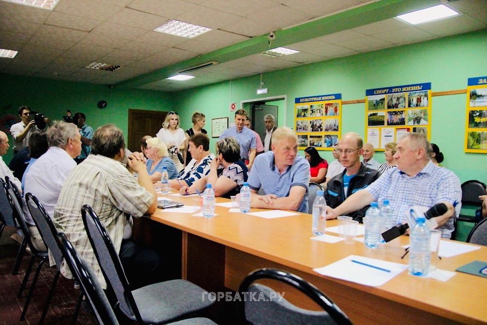 В Новлянке губернатор Владимир Сипягин встретился с предпринимателями района