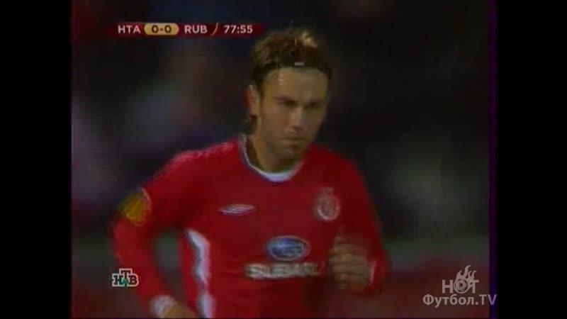 Хапоэль Тель-Авив 0-0 Рубин. Лига Европы 2009/10 - 1/16 финала. Обзор ответного матча