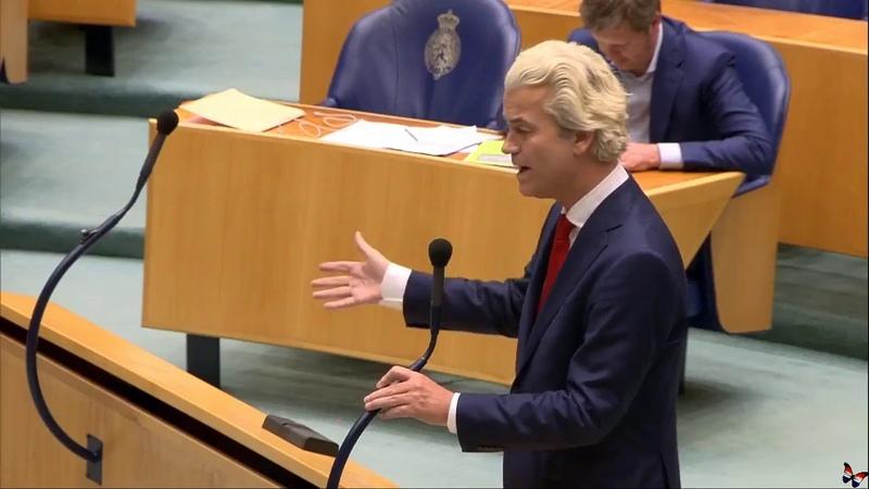 ★ Geert Wilders verzoekt Rutte om respect te tonen ★ 14 03 2019 HD