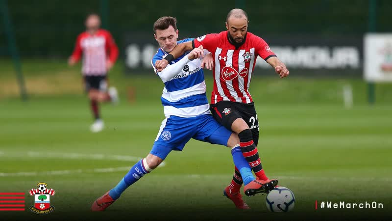 - SaintsFC beat - QPR 3-2 in a friendly at Staplewood Campus this afternoon.__Our .mp4