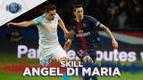 SKILLGESTE TECHNIQUE - PARIS SAINT-GERMAIN vs OLYMPIQUE DE MARSEILLE - ANGEL DI MARIA