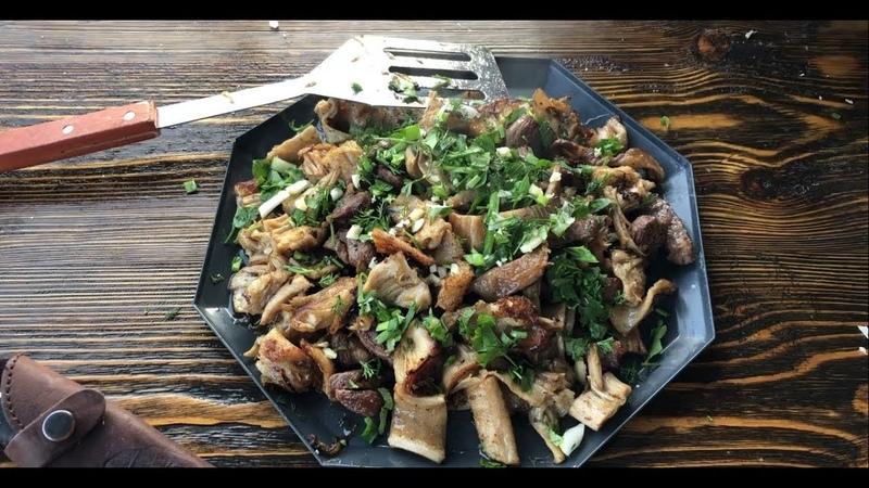 Как приготовить требуху, требуха в казане, шашлык, рубец, коровий желудок, простой рецепт от Рината