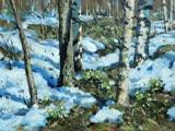 Ранняя весна в рисунках детей и музыке Г.В.Свиридова.