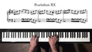 Bach Prelude and Fugue No.20 Well Tempered Clavier, Book 1 with Harmonic Pedal