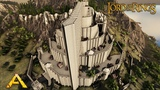 Ark Survival Evolved - Minas Tirith from the Lord of the Rings (Speed Build)