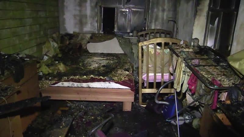 При пожаре в частном доме в Казани погибла целая семья трое из них – маленькие дети