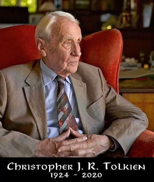 Умер сын писателя Джона Толкина