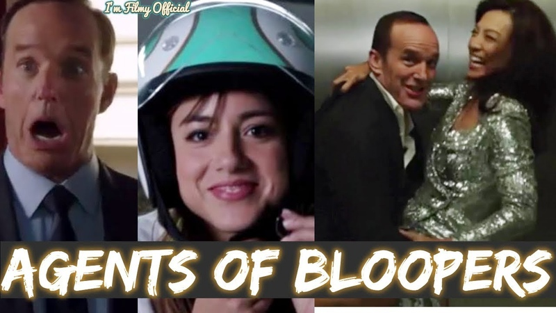 Marvel Agents of Shield Hilarious Bloopers Gag Reel - All Seasons Compilation - 2017