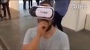 Виктар пробует играть дота 2 с VR очками