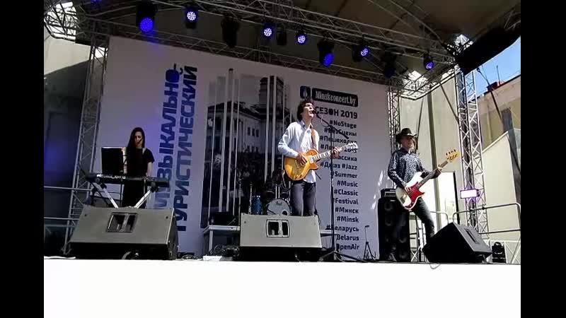 Пешеходка рок концерт. 18.5.19г.