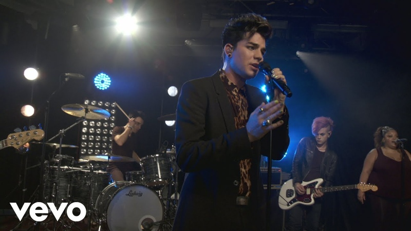 Adam Lambert - Broken English (Clear ChanneliHeartRadio 2012)