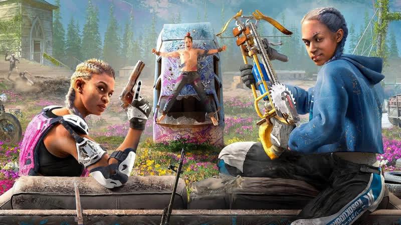 Far Cry New Dawn Розовый постапокалипсис? Да легко!