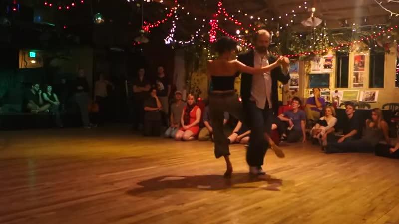Nick Diana improv to ~ Tango Blues Fusion - Oct. 2013