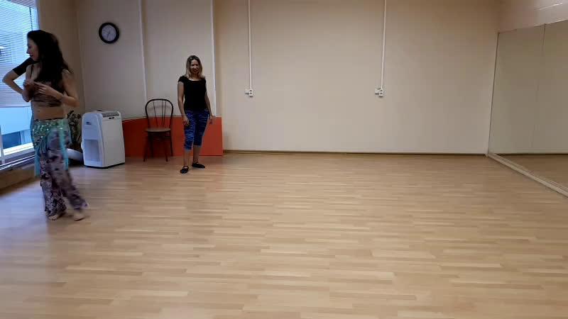 Импровизация. Не танец живота. И Григорьев Сны моей весны Танго