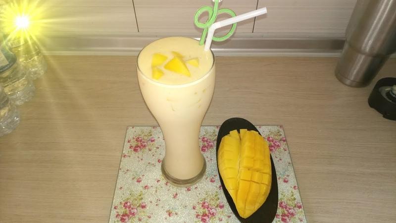 Mango milk shake มะม่วงปั่นนมสด