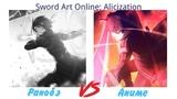 ПЕРВАЯ СМЕРТЬ. ВОЗВРАЩЕНИЕ ЧЁРНОГО МЕЧНИКА! Sword Art Online Alicization. Обзор 22 серии.