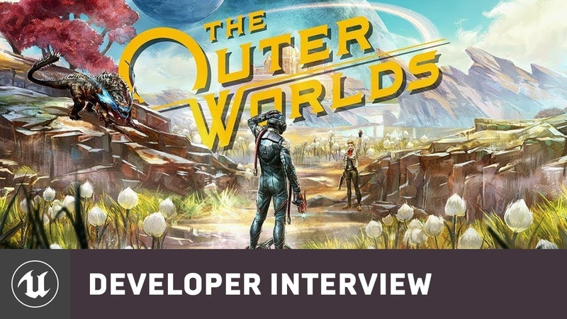 The Outer Worlds by Obsidian Entertainment | E3 2019 Developer Interview | Unreal Engine