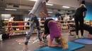 Mage rygg basisøvelser med landslaget i seiling på Olympiatoppen