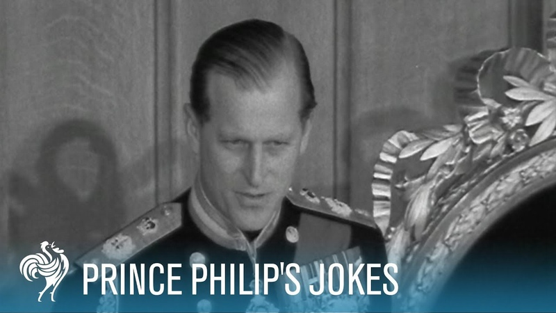 Prince Philips Jokes Royal Comedy | British Pathé