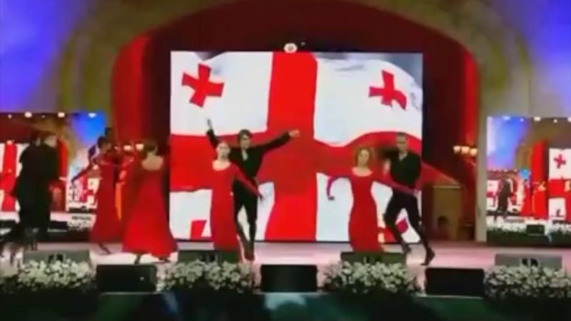 ансамбль Грузии СУХИШВИЛИ - новый танец Перхули (из пр-мы Трансформация) 17.05.2019