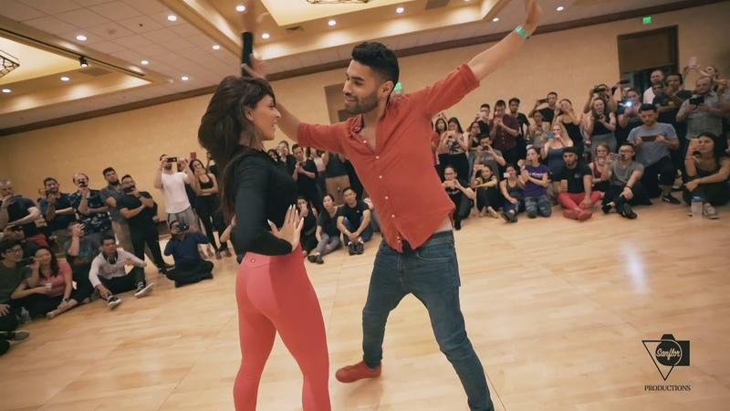 Xtreme Caricias bachata workshop Marco Sara style Seattle Salsa Congress 2018