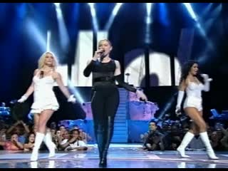 Madonna, britney spears, christina aguilera & missy elliott - like a virgin, hollywood (mtv video music awards 2003)