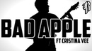 BAD APPLE METAL COVER by RichaadEB ft Cristina Vee