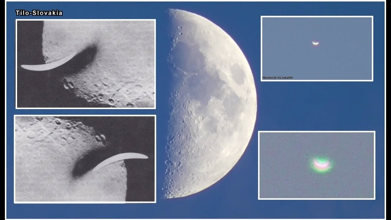 What is it Moon certainly not! An extraterrestrial boat, 500 km long