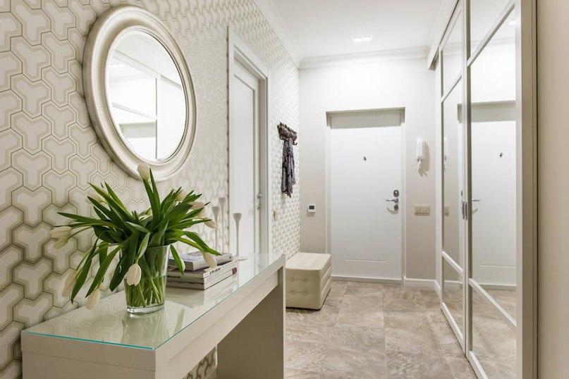 Стильная квартира для молодой семьи,площадь 78 кв.