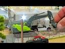 FANTASTIC REAL 1:87 MICRO SCALE RC TRUCKS, EXCAVATORS, DOZER, FIRE TRUCKS, CRAWLER, CARS AND MORE!