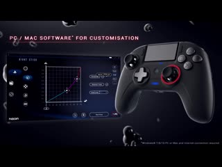 Nacon revolution unlimited officially licensed pro controller for ps4
