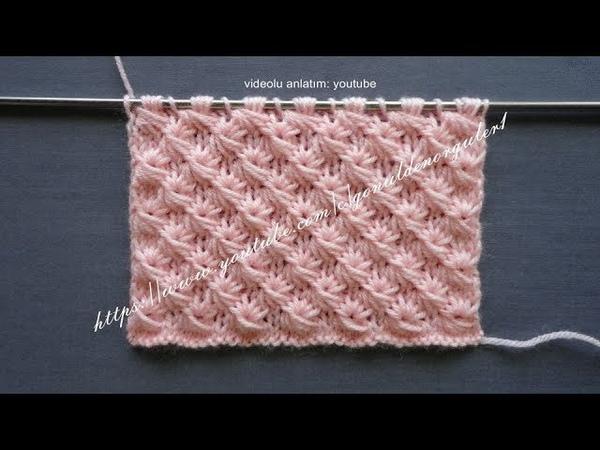 Yıldız papatya örgü modeli bebek battaniyesi bayan yelekleri örgüleri