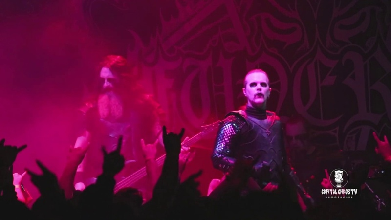 DARK FUNERAL live in Oakland, California on CAPITAL CHAOS TV