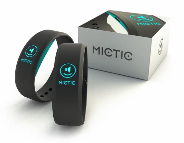 Умные браслеты Mictic превратят движения тела в музыку