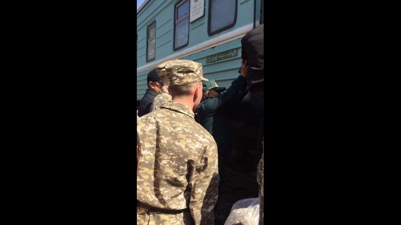 Провожаем братишку в армию