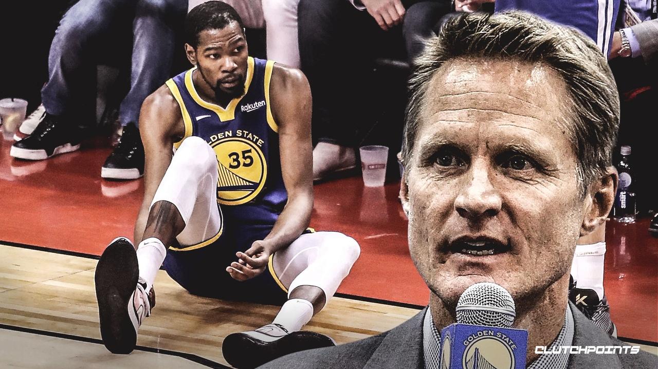 Стив Керр: «Если бы мы знали, что у Дюрэнта может быть травма ахилла, то он бы точно не играл»