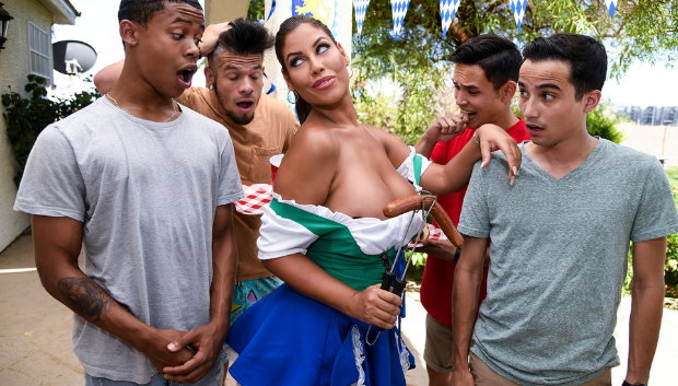 Brazzers - It's A Sausage Fest