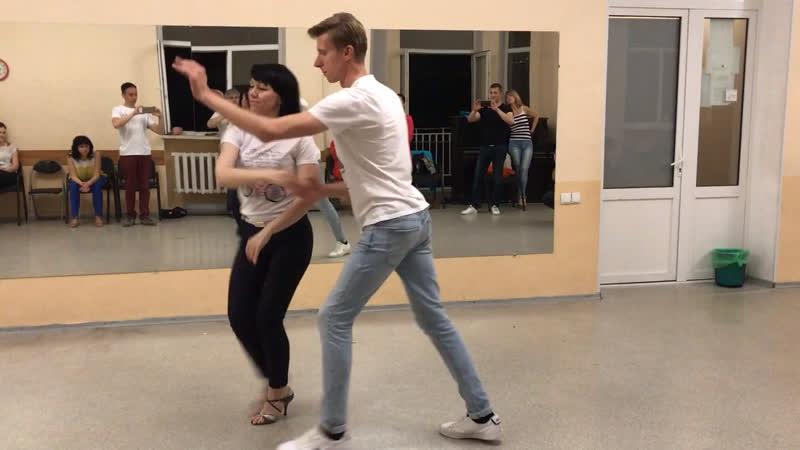 🎥 Резюме урока по танцу ✨Сальса✨- 21.05.18. Продолжающая Группа.
