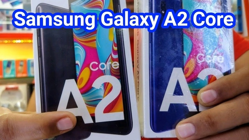 Samsung Galaxy A2 Core 1GB RAM 16GB ROM 2,600mAh Unboxing Review Specifications First Look Price B