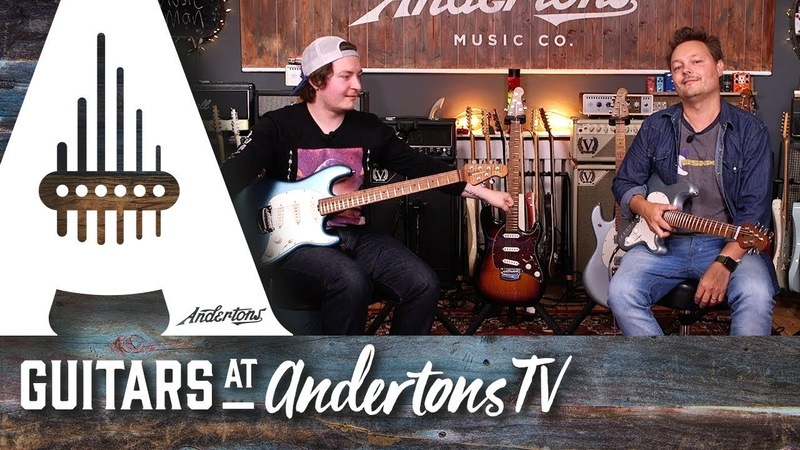 New Music Man Cutlass and Stingray Guitars - available at Andertons Music Co.