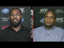 Jon Jones vs Daniel Cormier off air ESPN heated exchange DEATH THREATS Sportscenter UFC 182