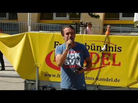 Sven Liebich am 06.07.2019 ► Landau - Frauenbündnis Kandel