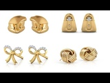 Earring Collection Latest Gold Earring Kids Gold Ear Tops Latest Earring Design