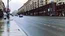 Кортеж ПУТИНА по перекрытой Москве